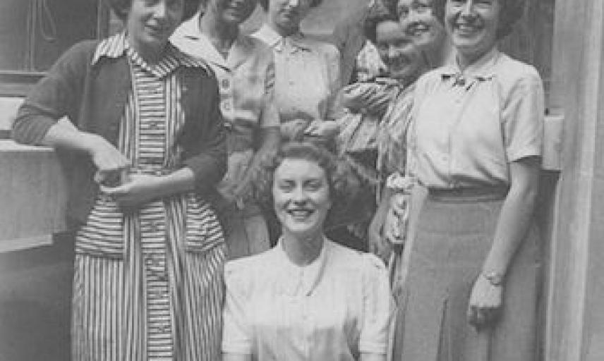 graduate school office staff 1957